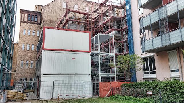Baustelle neben Humboldt-Universität zu Berlin, 10099 Berlin, 19.04.2014