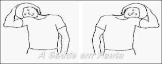 Exercícios para o pescoço. Flexionando