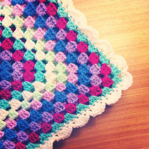 Crochet Stitches Bella Coco : Colour Scheme Inspiration: Crochet blanket - Bella Coco by Sarah-Jayne