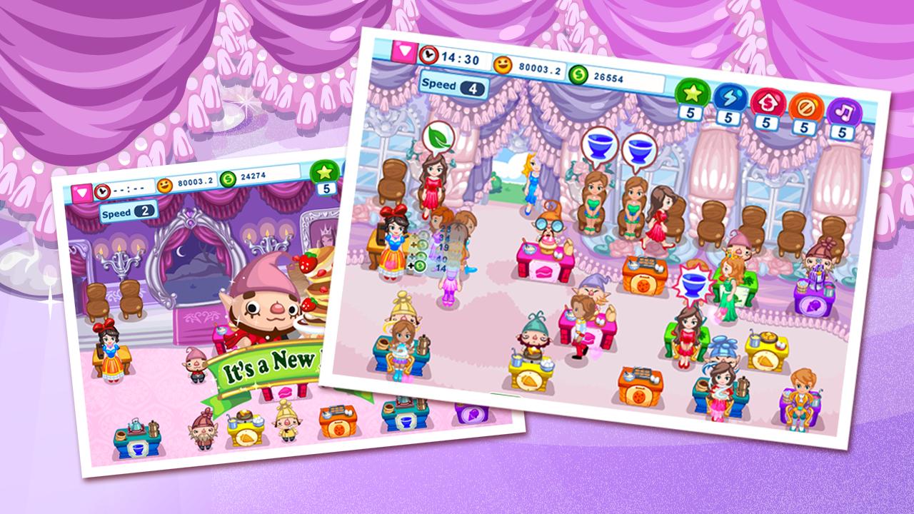 Game Snow White Cafe APK Android Terbaru • Miftatnn
