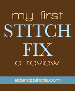 My First Stitch Fix - A Review | Everyday Snapshots