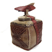 Red Eye Rattle Lidded Wish Box