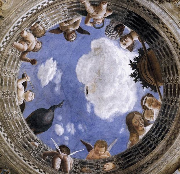 Ceiling Oculus by Andrea Mantegna on friends-of-art.net