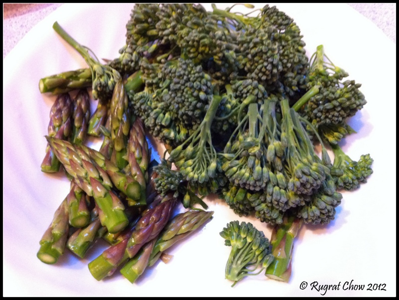 how to cook asparagus and broccolini