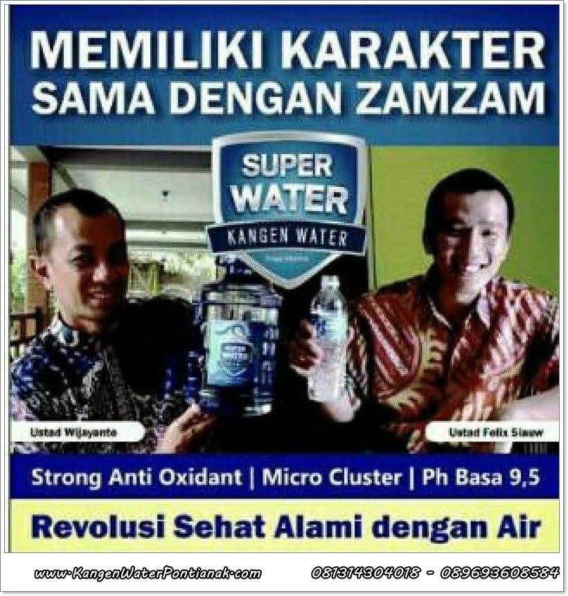 Revolusi SEHAT dengan KANGEN WATER