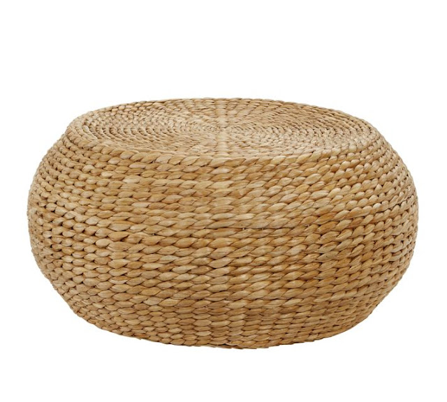 Copy cat chic ralph lauren home desert modern woven for Seagrass coffee table