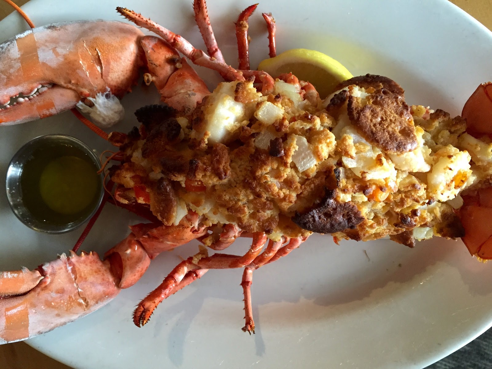 ... with Lauren DeSantis: Thanksgiving Recipe: Stuffed and Baked Lobster
