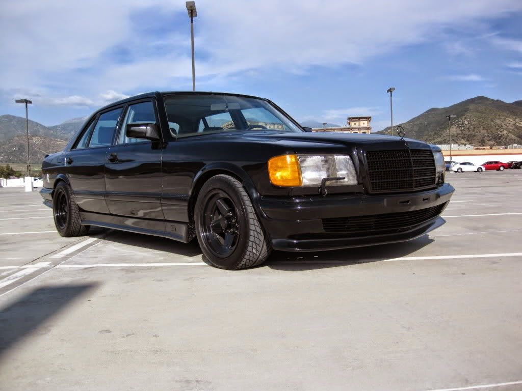 Mercedes benz w126 5 6 amg shadow line benztuning for Mercedes benz 6
