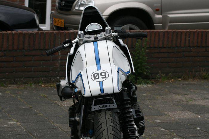 BMW K100 Cafe Racer | BMW RS09 Cafe Racer | BMW K100 RS09 Cafe Racer | Bmw Cafe racer | cafe racer project | way2speed.com