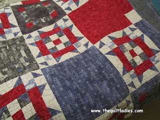 Red, White and Blue Star Quilt