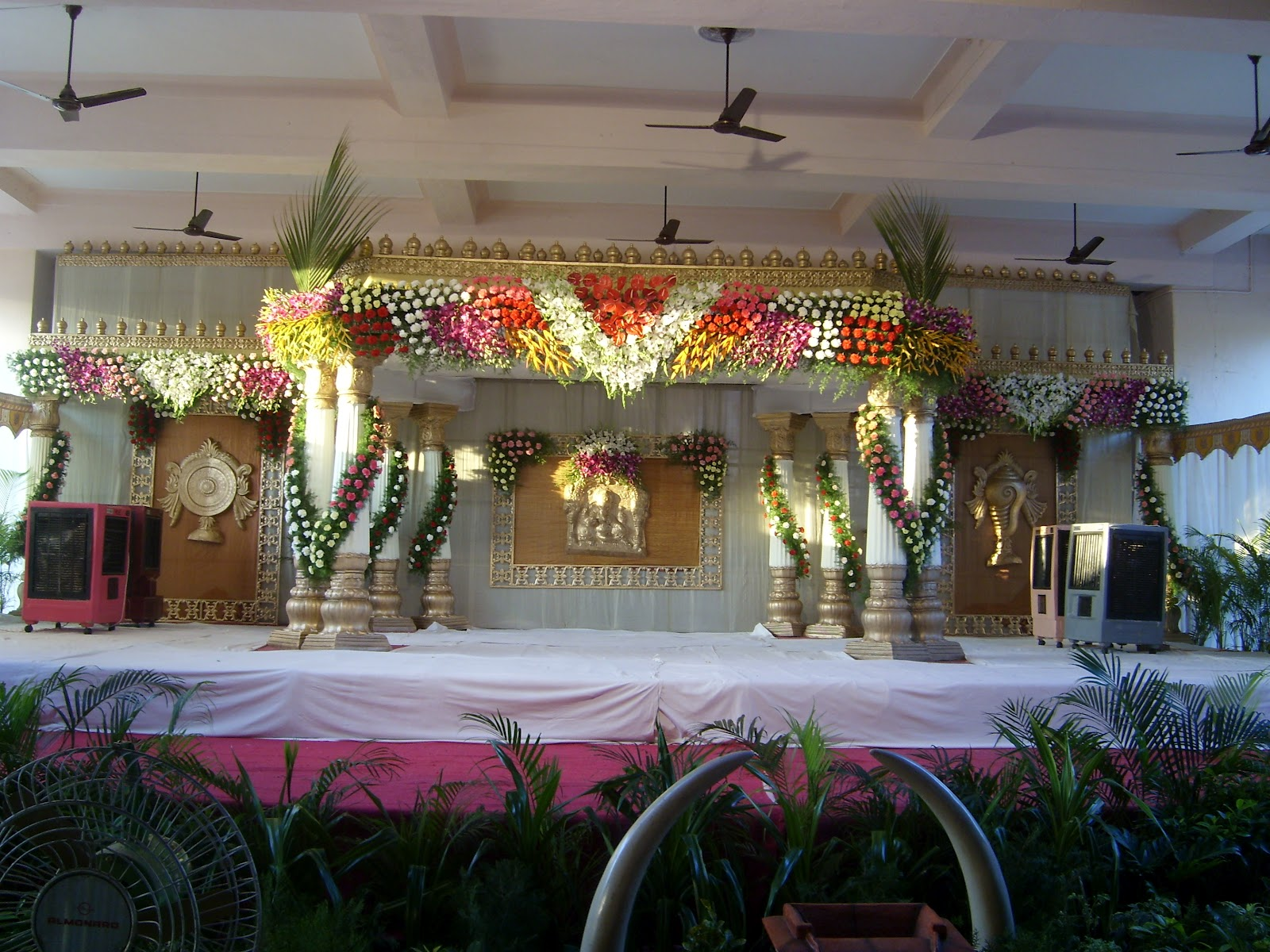 Indian Wedding Stage Sets designs