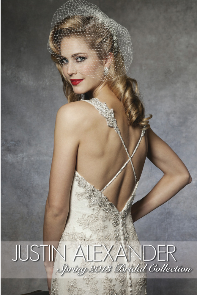 wedding dress justin alexander 1 Justin Alexander Spring 2013 Bridal Collection + My Dress of the Week