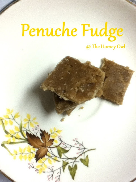 Penuche Fudge...or those days when you just wing it