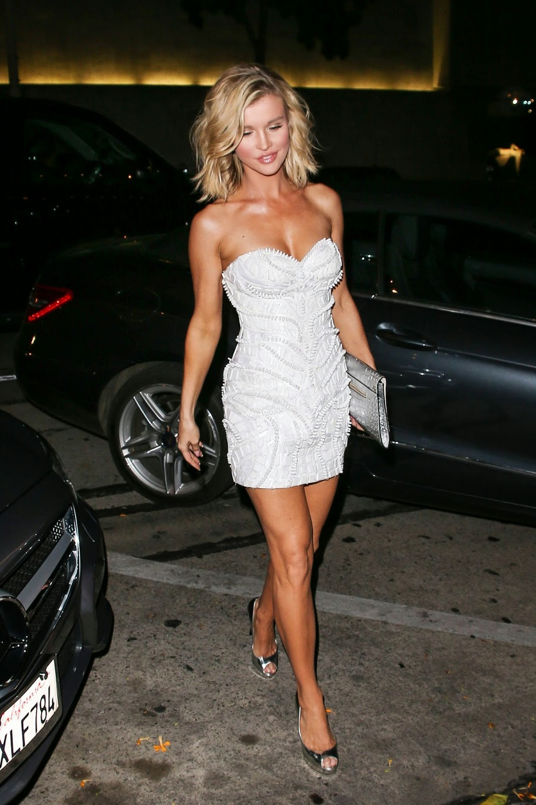Actress, Model @ Joanna Krupa at Craig's Restaurant in West Hollywood