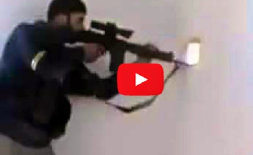Video 1 detik Alah selamatkan mujahidin Suriah dari ancaman kematian