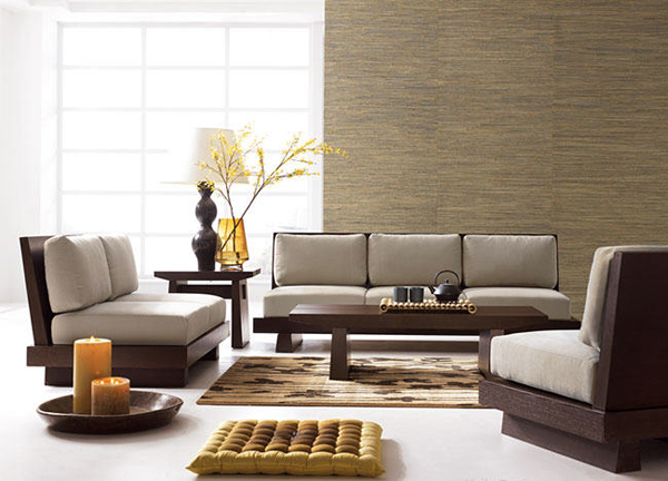 Philobiodesign japanese style furniture with high thermal for Living room ideas japan