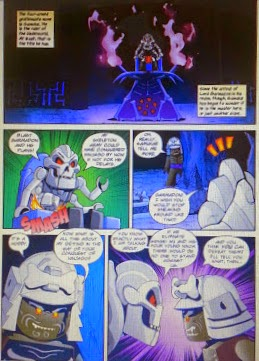 LEGO Ninjago Graphic Novels Samukai inside page volume 1