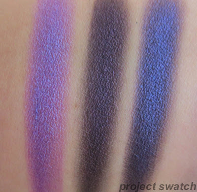 MUA eyeshadow - Shade 9, Shade 13 swatches