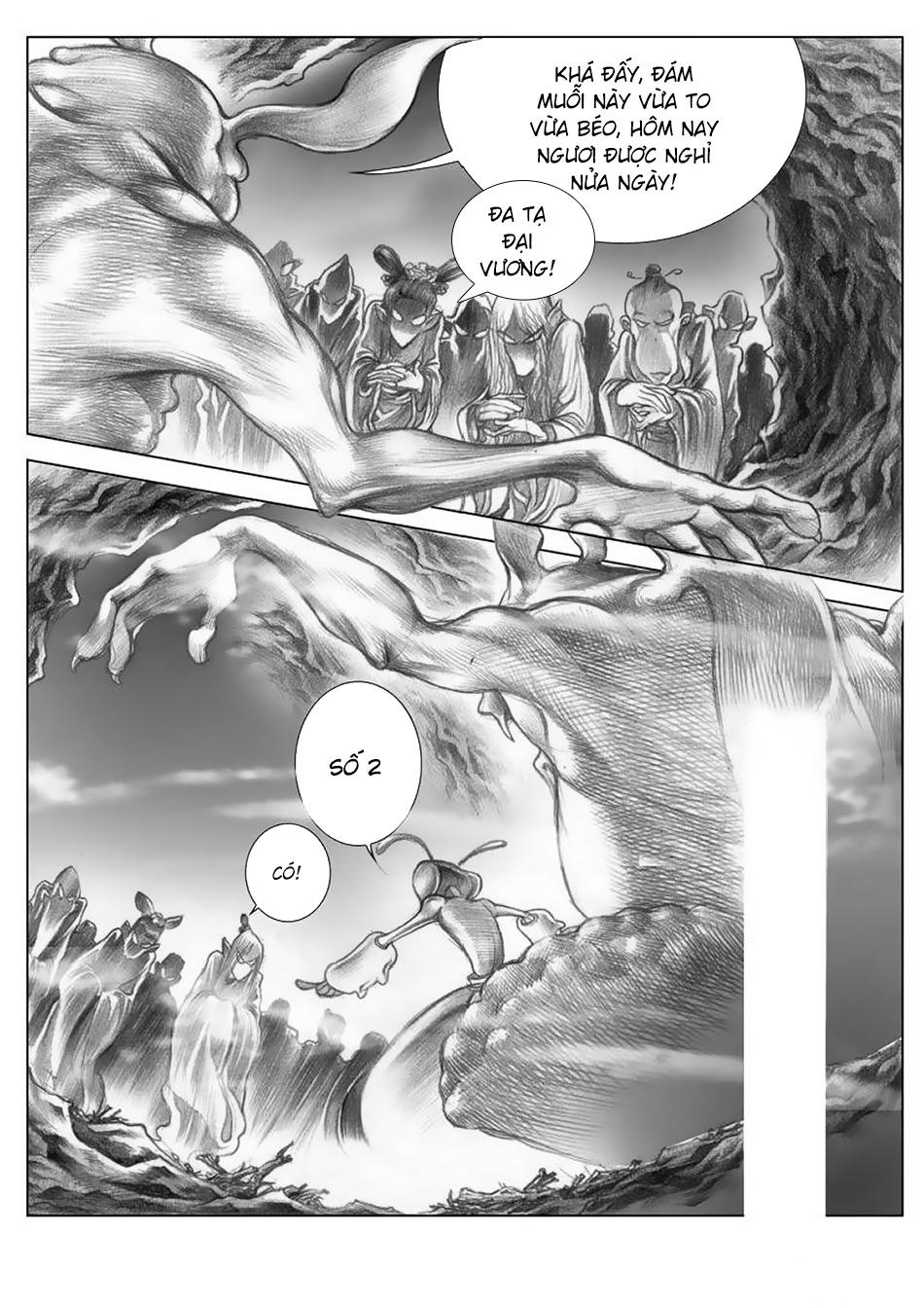 Chung Quỳ Truyền Kỳ Chapter 3 - Hamtruyen.vn