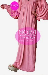 (LESS 20% UNTIL AIDILFITRI) NBH0211 ADNI JUBAH (NURSING FRIENDLY)
