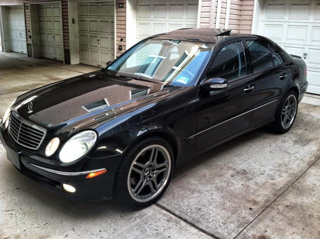 Mercedes benz w211 e500 black benztuning for 2003 mercedes benz e500