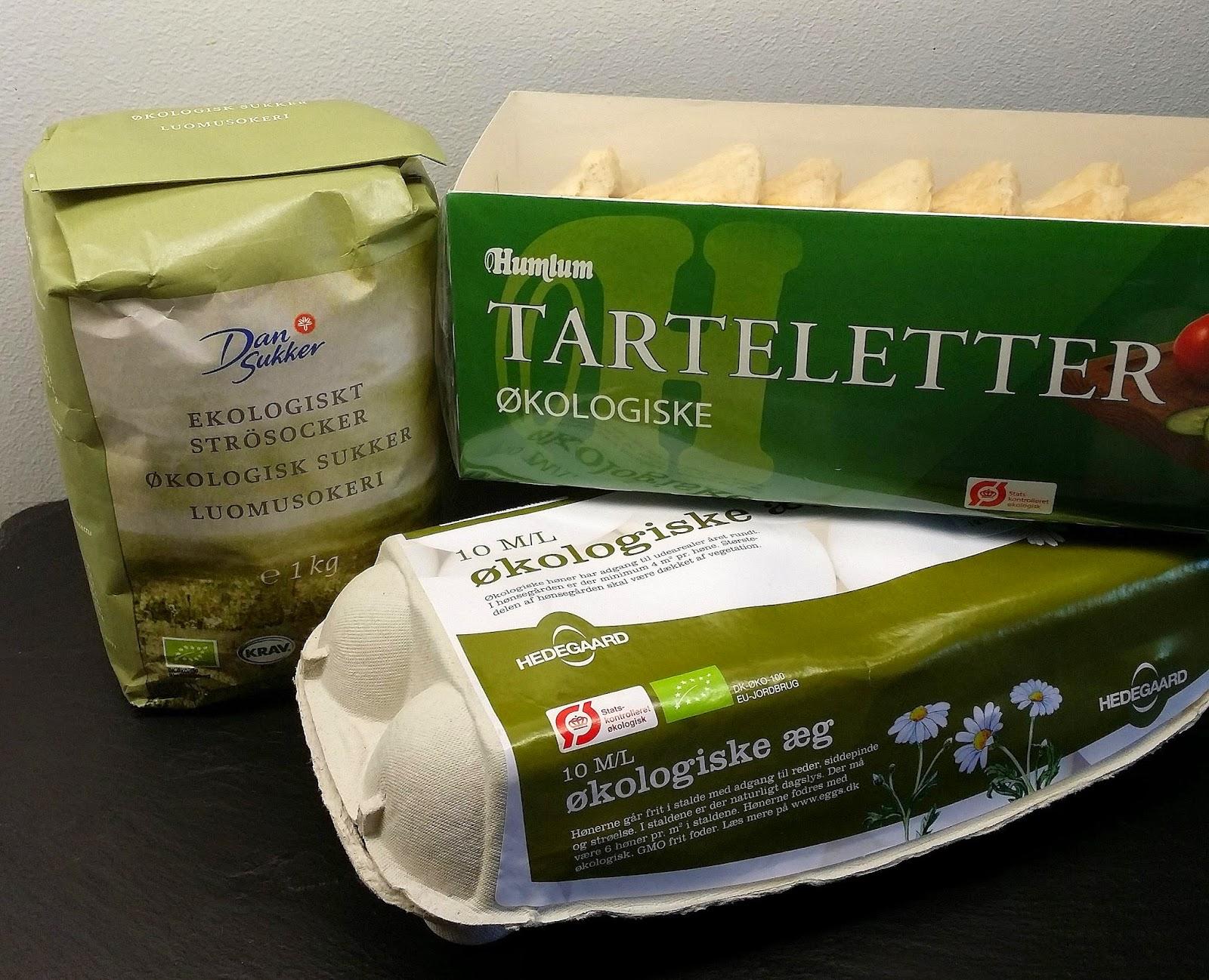Klidmoster.dk: Fastelavns-tarteletter med hindbær og limeflødecreme...
