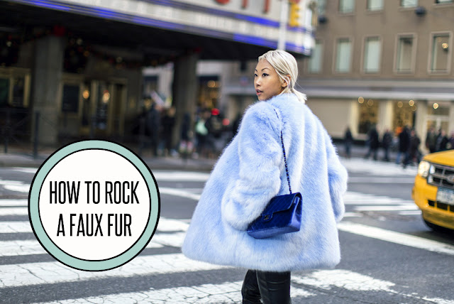 faux fur outfit ideas