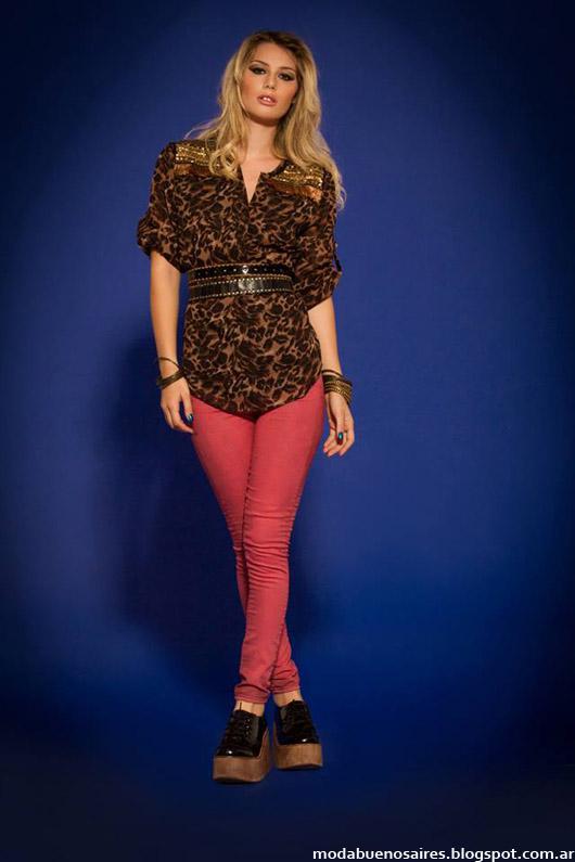 Sophya blusas y camisas otoño invierno 2014. Moda invierno 2014.