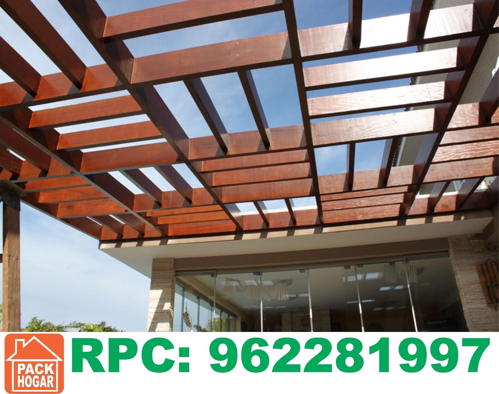 Pergolas sol y sombra techos de madera lima for Techos de madera para exterior