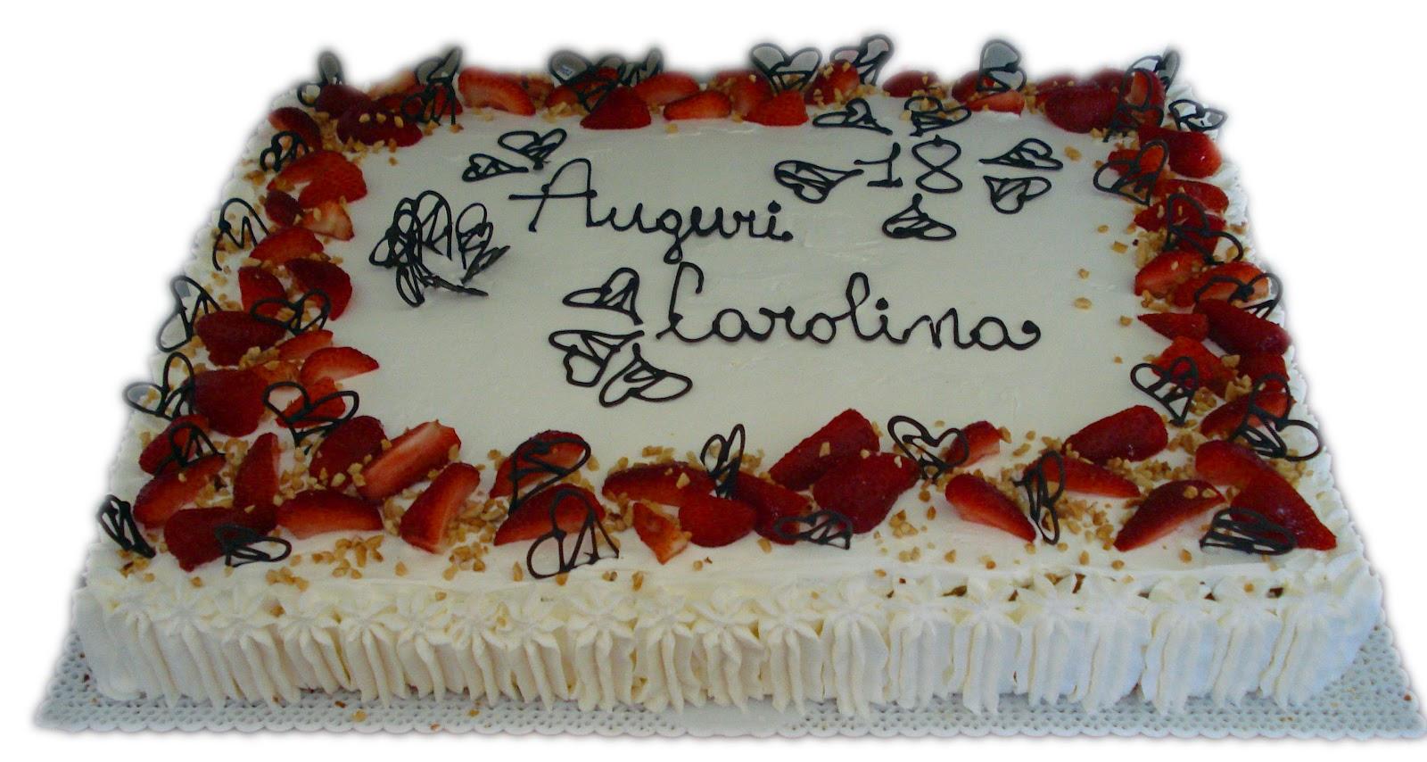 Coolsugarcake torte decorate con panna for Decorazioni torte con fragole e cioccolato