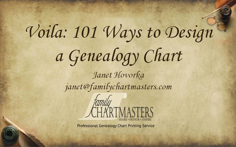the chart chick may we show off your genealogy chart