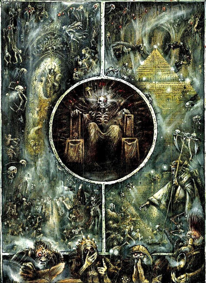 Warhammer 40,000 (copyright Games Worshop)