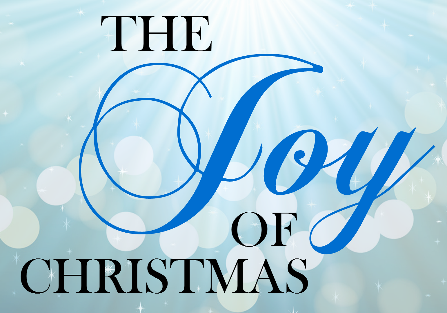 the joys of celebrating christmas Get this from a library a family christmas : celebrating the joys of the season [arlene hamilton stewart] -- presents ideas and inspiration for gift giving, decorating and traditional celebrating of christmas.