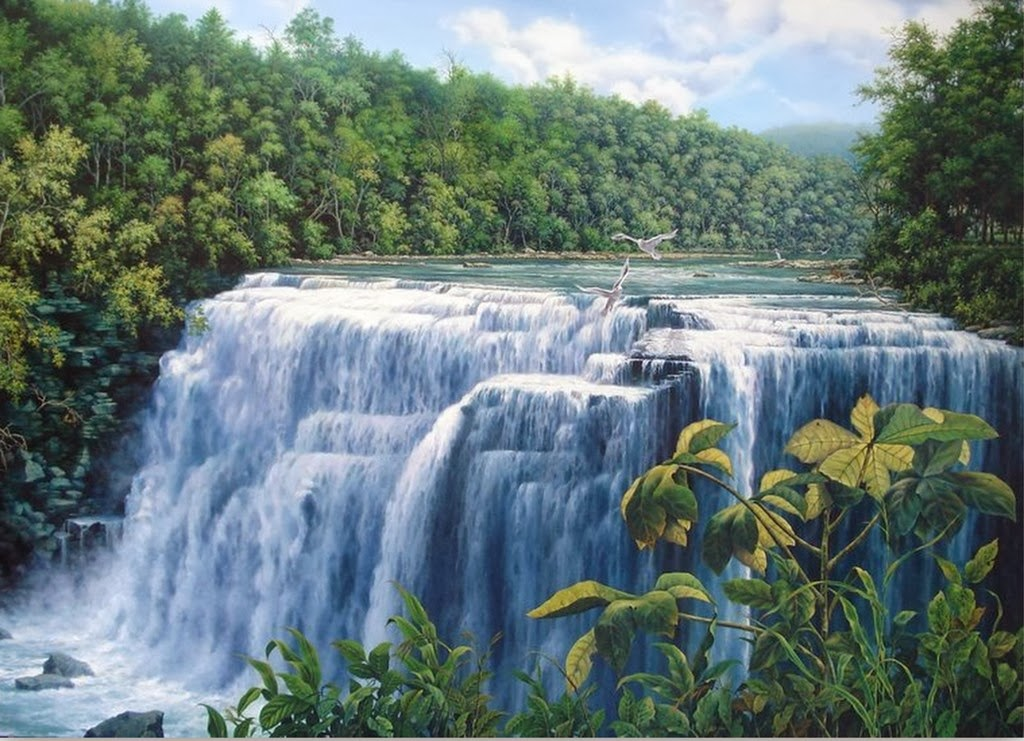 paisajes-con-cascada