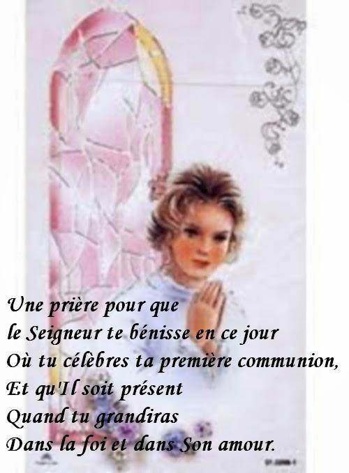 Top Du Meilleur Priere Et Texte Carte Communion A Imprimer Gratuit