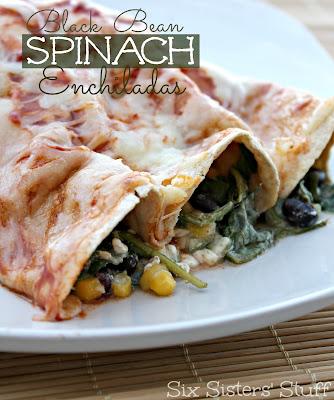 ... black bean casserole chicken black bean and spinach enchiladas black