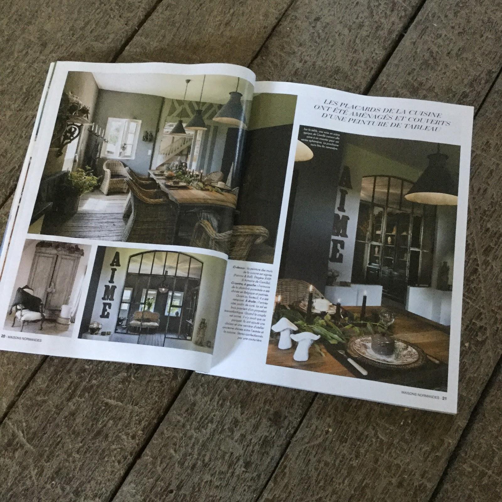 l 39 armoire de camille l 39 armoire de camille dans maisons normandes. Black Bedroom Furniture Sets. Home Design Ideas