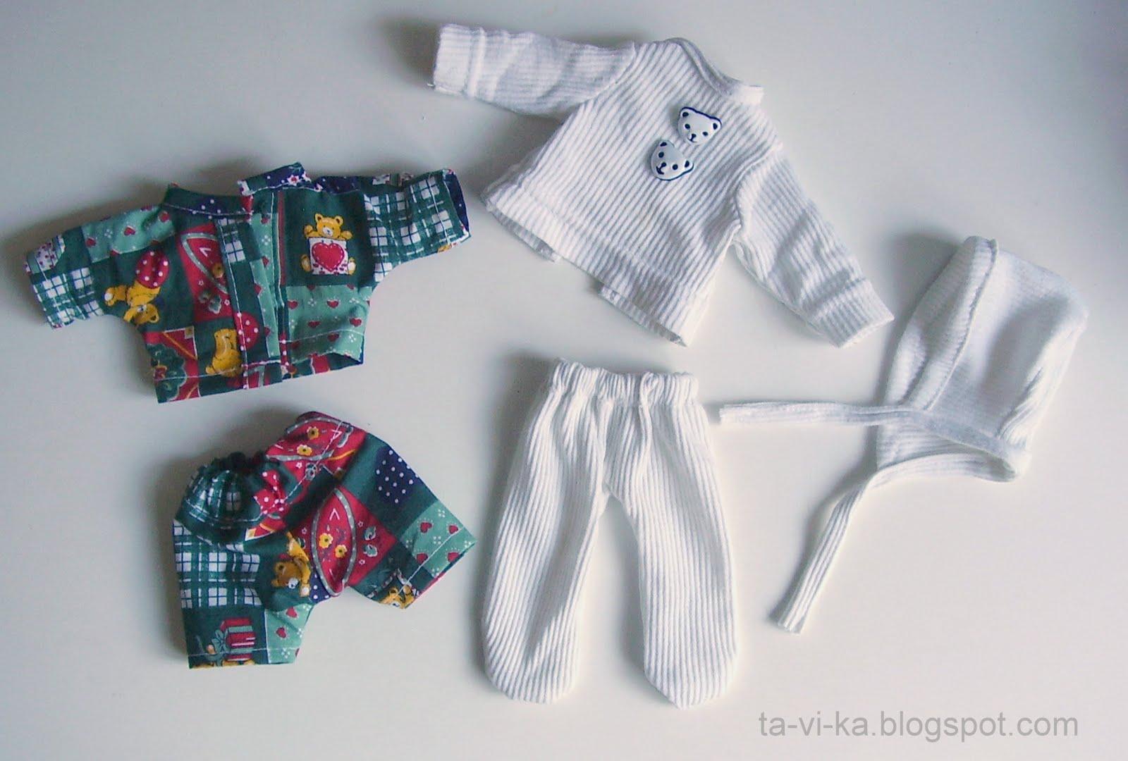 Ползунки и распашонки для новорожденных своими руками
