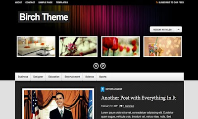 Birch WordPress Theme