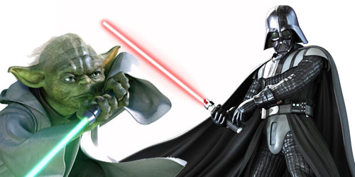 master yoda vs darth - photo #25