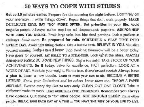 Gcse coursework stress