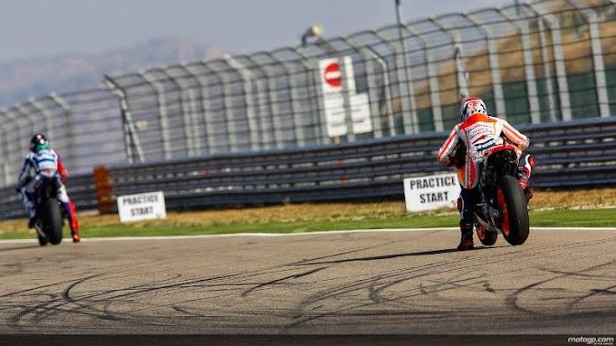 Rider Ducati Tercepat di Dua Latihan Bebas Aragon