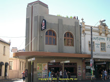 Sydney Art Deco Heritage Zanzibar Hotel