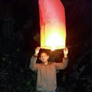 Cara membuat Lampion Terbang