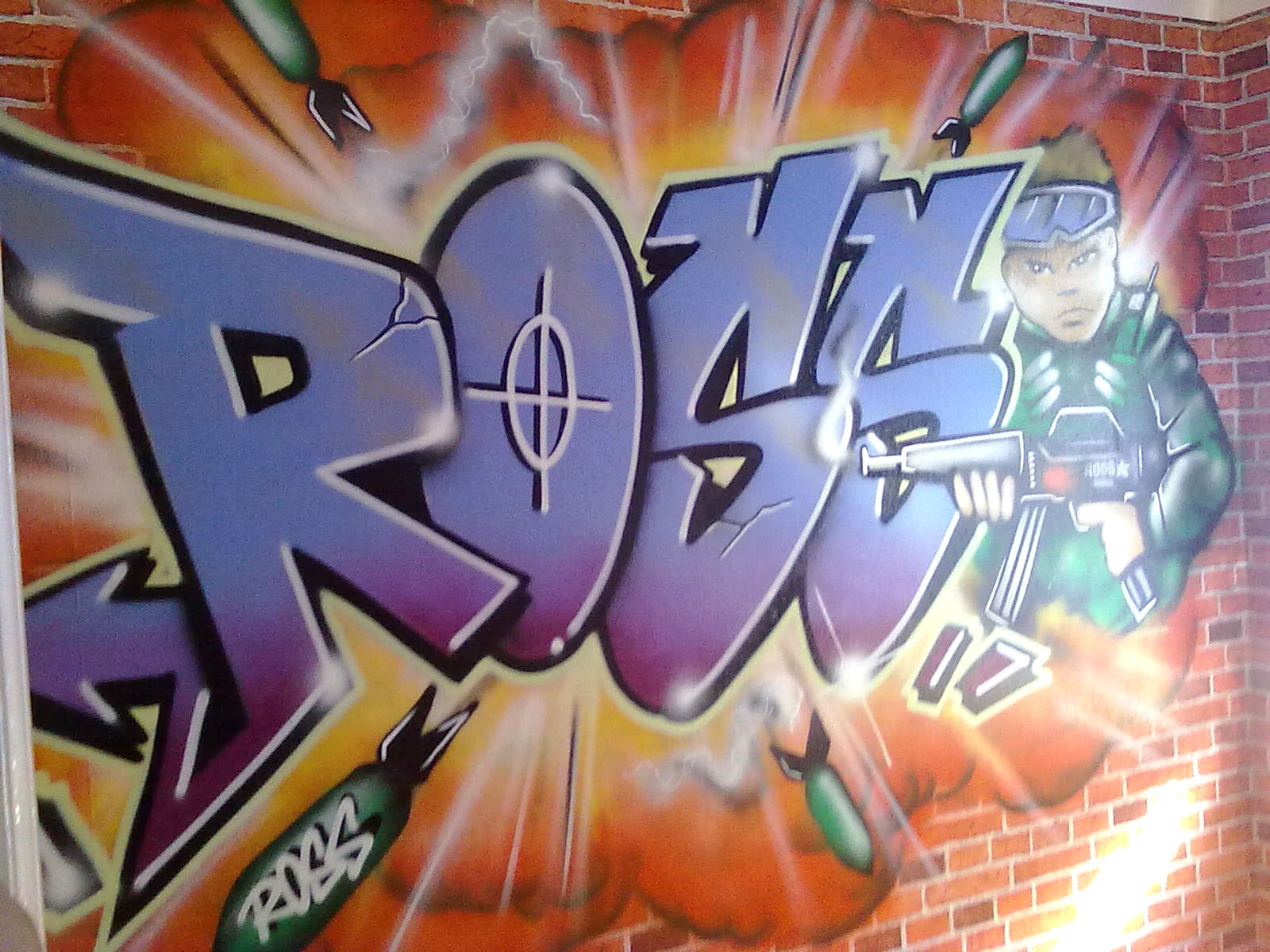 New Graffiti Letters: July 2011