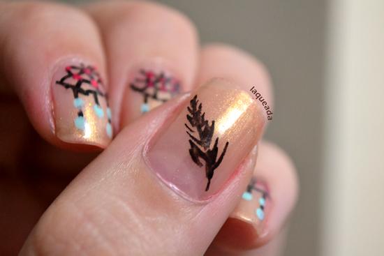 Dreamcatcher - Atrapasueños Nail Art