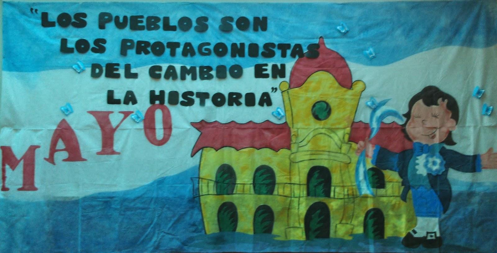 Escuela n 1 jos mar a texier 25 de mayo parte i for Decoracion 25 de mayo nivel inicial
