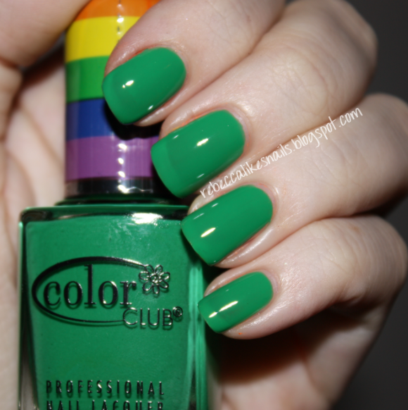 rebecca likes nails: Color Club - Pride Collection - swatches and review