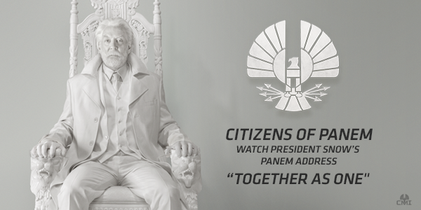 President Snow Statue Mockingjay Part 1 Teaser Trailer