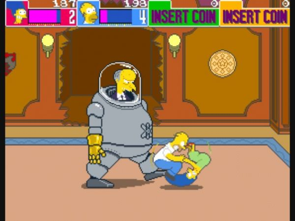 jogo The Simpsons Homer